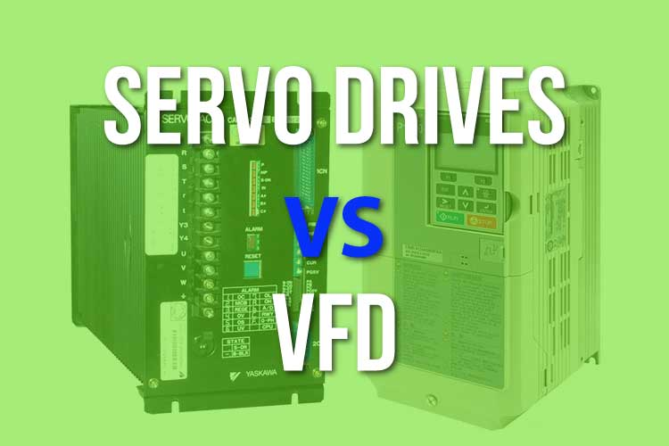 Servo Drives vs VFD