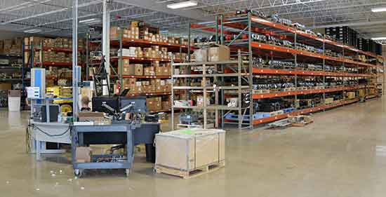 Precision Zone Warehouse and Receiving Dock