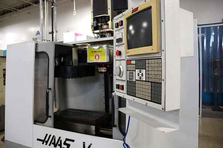 Haas VF-1 CNC Control Panel