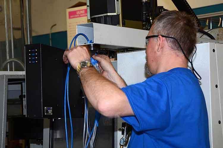 Haas VMC upgraded wiring
