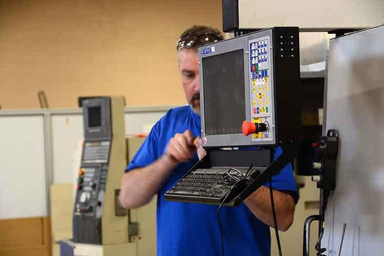 Haas VMC LCD Control Panel installation
