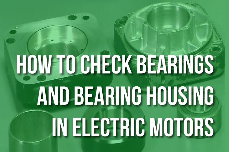 Checking Bearing Housing