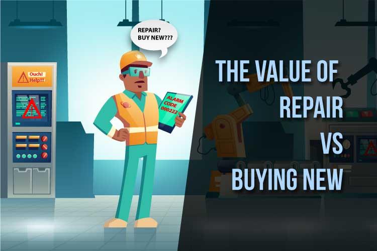 Repair vs Buying New