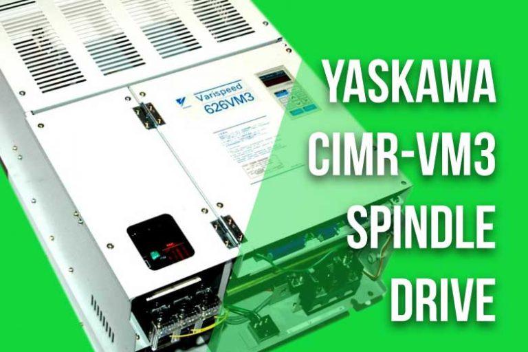 Yaskawa CIMR-VM3 Spindle Drives