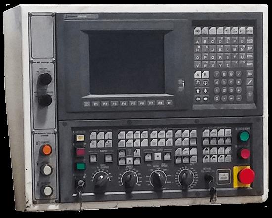 CNC Control Display