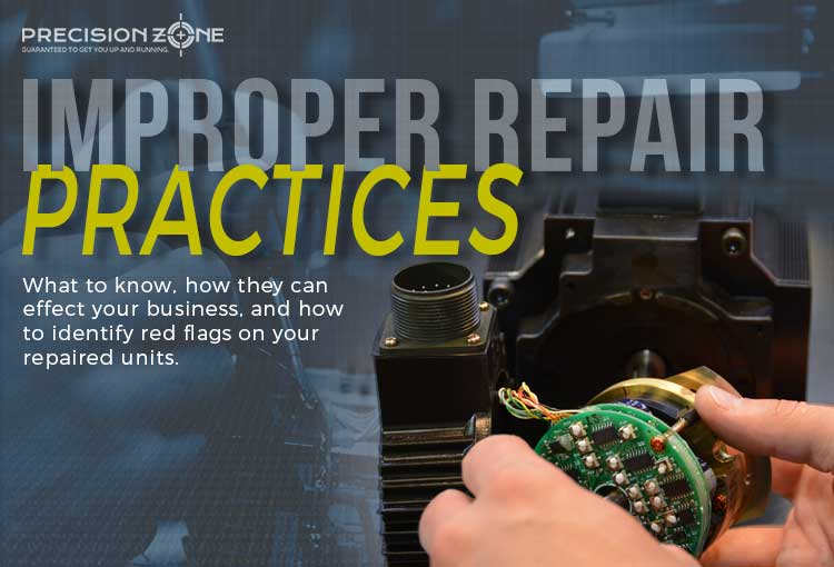 Improper repair practices