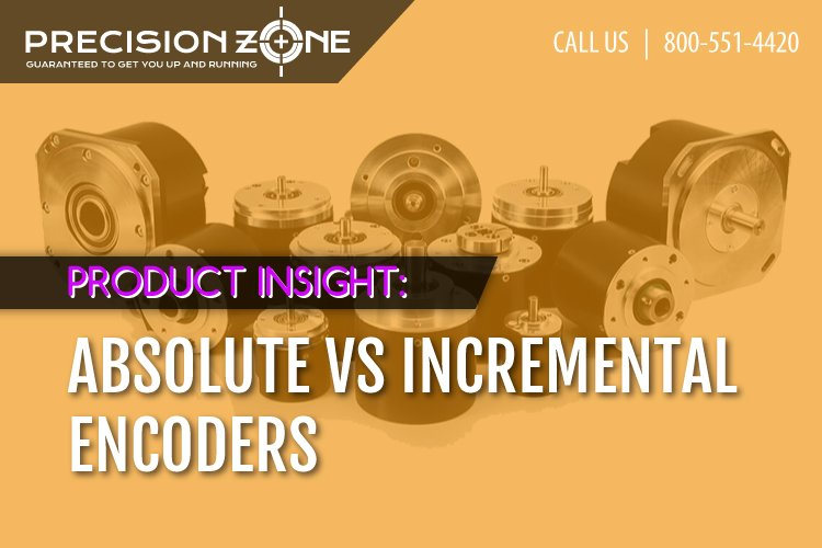 Absolute vs Incremental Encoders