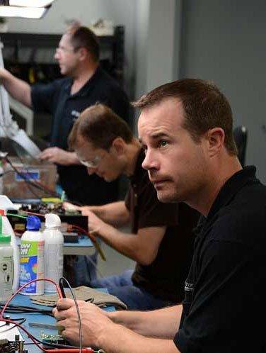 Precision Zone Technician at work