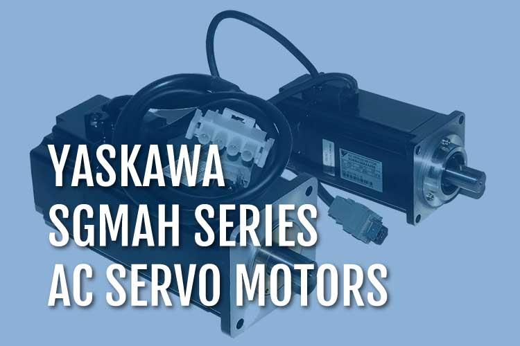 Yaskawa SGMAH AC Servo Motors