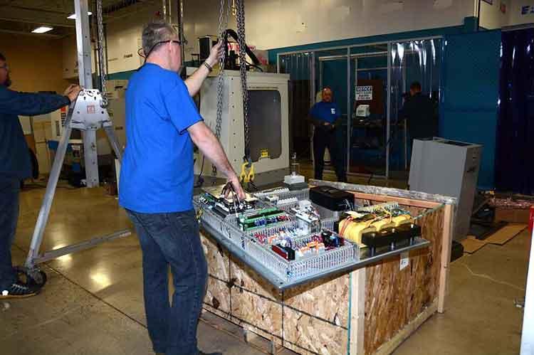 Preparing the new CNC Control panel